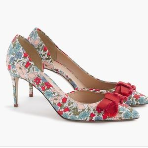 Brand new in box! J.crew Colette bow pumps- 10
